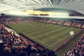 ... Debreceni Nagyerdei Stadion látványképe a lelátóról 2d0724ddb8